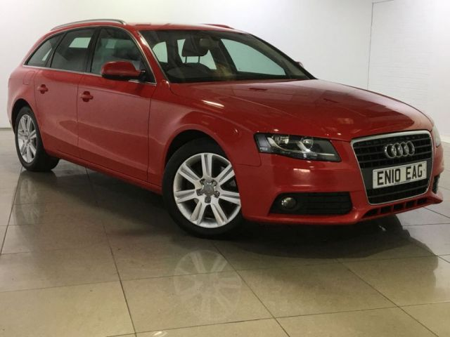 View our 2010 10 AUDI A4 2.0 AVANT TDI SE DPF 5d 141 BHP