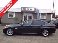 2012 BMW 5 SERIES 2.0 520D M SPORT 4DR AUTOMATIC 181 BHP DIESEL £11800.00