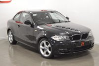 USED 2011 60 BMW 1 SERIES 2.0 118D SPORT 2d 141 BHP STUNNING IN BLACK