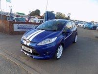 2011 FORD FIESTA 1.6 S1600 3d 132 BHP £7995.00