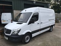 USED 2015 15 MERCEDES-BENZ SPRINTER 2.1 313 CDI MWB 1d 129 BHP