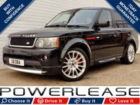USED 2009 59 LAND ROVER RANGE ROVER SPORT 3.0 TDV6 HSE 5d AUTO 245 BHP BLACK FRIDAY WEEKEND EVENT, AUTOBIOGRAPHY STYLING FSH NAV