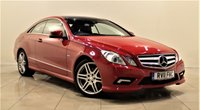 USED 2011 11 MERCEDES-BENZ E CLASS 2.1 E250 CDI BLUEEFFICIENCY SPORT 2d AUTO 204 BHP SAT NAV + AIR CON + LEATHER SEATS + SERVICE HISTORY
