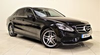 USED 2014 14 MERCEDES-BENZ E CLASS 2.1 E220 CDI AMG SPORT 4d AUTO 168 BHP + 1 PREV OWNER +  EXCELLANT CONDITION