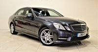 USED 2012 61 MERCEDES-BENZ E CLASS 2.1 E250 CDI BLUEEFFICIENCY SPORT ED125 4d AUTO 204 BHP + 1 PREV OWNER +  SAT NAV + AIR CON + AUX + BLUETOOTH