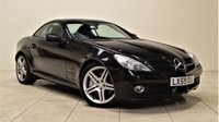USED 2009 59 MERCEDES-BENZ SLK 1.8 SLK200 KOMPRESSOR 2d AUTO 184 BHP + 2 PREV OWNERS + AIR CON + AUX + LEATHER SEATS