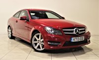 USED 2013 13 MERCEDES-BENZ C CLASS 2.1 C220 CDI BLUEEFFICIENCY AMG SPORT 2d AUTO 170 BHP