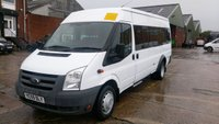 USED 2009 59 FORD TRANSIT 2.4 430 SHR BUS 17 STR 1d 100 BHP 1 OWNER X  LEEDS  COUNCIL ///////