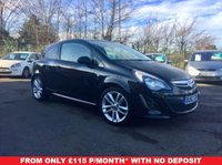 2013 VAUXHALL CORSA 1.4 SRI 3d A VERY CLEAN LOW MILEAGE EXAMPLE  £6000.00