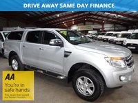 2014 FORD RANGER 2.2 LIMITED 4X4 DCB TDCI AUTO 148 BHP ONE OWNER-FULL SERVICE HISTORY £14600.00
