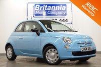 2014 FIAT 500 1.2 POP 3d 69 BHP £5290.00