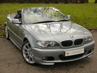 2006 BMW 3 SERIES 2.2 320CI M SPORT 2d 168 BHP £7995.00