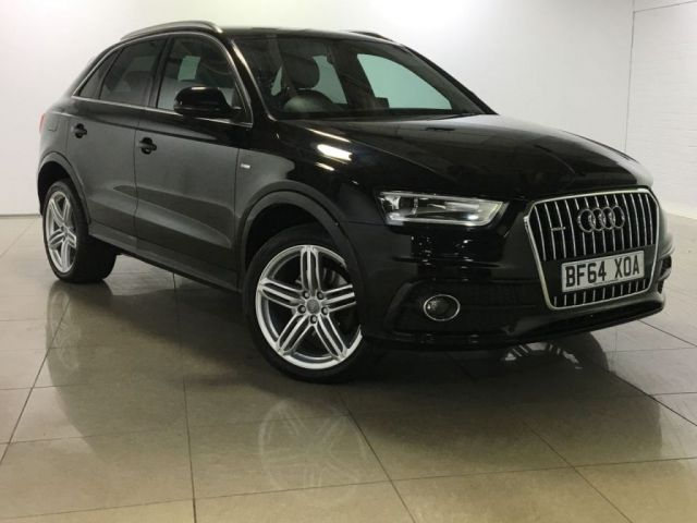 View our 2014 64 AUDI Q3 2.0 TDI QUATTRO S LINE PLUS 5d AUTO 177 BHP