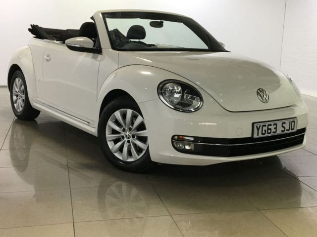 View our 2013 63 VOLKSWAGEN BEETLE 1.6 DESIGN TDI BLUEMOTION TECHNOLOGY 3d 104 BHP