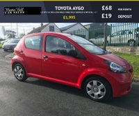 USED 2006 55 TOYOTA AYGO 1.0 VVT-I 5d  RED 62000 MILES COMES FULLY SERVICED & WITH FULL MOT