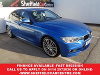 2014 BMW 3 SERIES 3.0 330D M SPORT 4d AUTO 255 BHP £16975.00