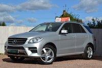 2013 MERCEDES-BENZ M CLASS 2.1 ML250 BLUETEC AMG SPORT 5d AUTO 204 BHP £23000.00