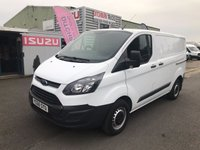 2015 FORD TRANSIT CUSTOM 2.2 290 LR P/V 1d 99 BHP £SOLD