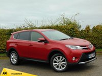 USED 2013 63 TOYOTA RAV4 2.2 D-4D ICON 5d * 128 POINT AA INSPECTED *