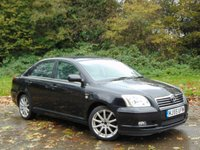 USED 2005 55 TOYOTA AVENSIS 2.0 T SPIRIT VVT-I 5d 145 BHP JUST BEEN SERVICED AND 12 MONTHS MOT