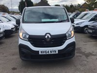 2014 RENAULT TRAFIC 1.6 LL29 BUSINESS DCI S/R P/V 1d 115 BHP £9900.00