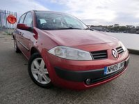 USED 2005 05 RENAULT MEGANE 1.6 SL OASIS 16V 5d 115 BHP 1 Owner in Diablo red metallic-JUNE 2018 MOT-Full Service History including recent replacement timing belt/water pump,clutch,discs and pads etc