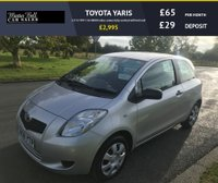 USED 2008 08 TOYOTA YARIS 1.0 T2 VVT-I 3d 48000 miles comes fully serviced with full mot