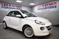 USED 2015 65 VAUXHALL ADAM 1.2 GLAM 3d 69 BHP Full Vauxhall Service history, Cruise control, bluetooth , 1 Owner from new