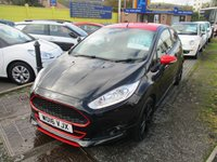 2016 FORD FIESTA 1.0 ZETEC S BLACK EDITION 3d 139 BHP £11395.00