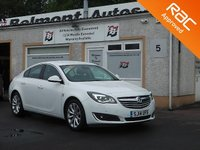 USED 2014 14 VAUXHALL INSIGNIA 2.0 ELITE NAV CDTI ECOFLEX S/S 5d 138 BHP Upgraded Navigation , Full Leather ,2 Service stamps