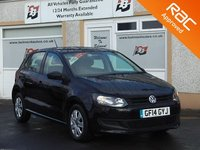 USED 2014 14 VOLKSWAGEN POLO 1.2 S A/C 5d 60 BHP A/C , Full Size Spare Wheel , DAB Radio