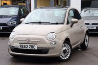 USED 2013 62 FIAT 500 1.2 LOUNGE 3d 69 BHP 1 OWNER ** LOW MILEAGE ** GREAT SPEC