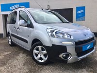 USED 2013 62 PEUGEOT PARTNER 1.6 HDI TEPEE OUTDOOR 5d
