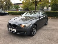 2013 BMW 1 SERIES 1.6 116I SPORT 5d 135 BHP £SOLD