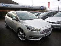 USED 2017 17 FORD FOCUS 1.0 ZETEC EDITION 5d AUTO 124 BHP NEED FINANCE? WE CAN HELP. WE STRIVE FOR 94% ACCEPTANCE