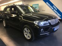 USED 2008 08 BMW X5 3.0 SD SE 5d AUTO 282 BHP 1 LADY OWNER FROM NEW, FULL SERVICE HISTORY, 7 SEATS , SAT NAV
