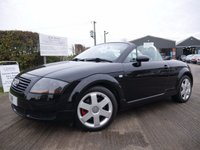 USED 2001 Y AUDI TT Roadster 1.8 (225bhp) 4X4 T quattro Roadster 2d 11 SERVICE STAMPS, QUATTRO 4 WHEEL DRIVE, EXCELLENT CONDITION