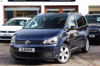 USED 2011 11 VOLKSWAGEN TOURAN 1.6 TDI 105ps SE 7 SEAT ** 1 OWNER ** FSH INC CAMBELT CHANGE ** PAN ROOF ** XENONS WITH LED DRLS