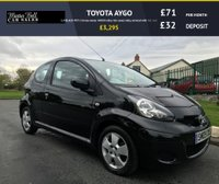 USED 2009 09 TOYOTA AYGO 1.0 BLACK VVT-I 3d one owner 44000 miles fsh comes fully serviced with full mot