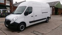 USED 2014 14 VAUXHALL MOVANO 2.3 F3500 L3H3 CDTI 1d 123 BHP 2 OWNERS F/S/H