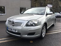USED 2006 56 TOYOTA AVENSIS 2.0 COLOUR COLLECTION D-4D 5d 125 BHP 2 FORMER KEEPERS ** SERVICE HISTORY **