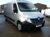 2015 RENAULT MASTER 2.3DCi LM35 BUSINESS PLUS 125 BHP LWB £11795.00