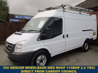 2011 FORD TRANSIT 115BHP 350 MWB MEDIUM ROOF DIRECT FROM CARDIFF COUNCIL £6000.00