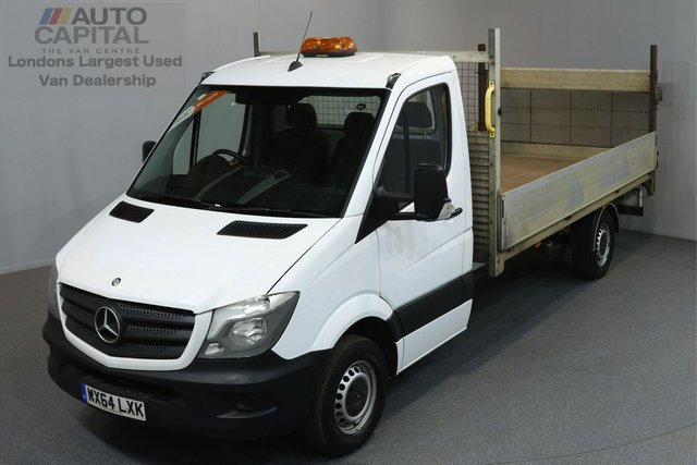 2014 64 MERCEDES-BENZ SPRINTER 2.1 313 CDI 2d 129 BHP RWD LWB TAIL LIFT DROPSIDE LORRY ONE OWNER FROM NEW