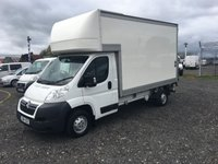 2014 CITROEN RELAY  35 2.2 HDI 130 12ft LUTON WITH  DEL 500KG TAIL LIFT £11995.00