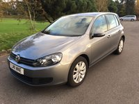 USED 2011 11 VOLKSWAGEN GOLF 1.6 MATCH TDI BLUEMOTION TECHNOLOGY DSG 5d AUTO 103 BHP 1 OWNER AUTOMATIC WITH FSH