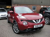 USED 2016 16 NISSAN JUKE 1.5 TEKNA DCI 5d 110 BHP ANY PART EXCHANGE WELCOME, COUNTRY WIDE DELIVERY ARRANGED, HUGE SPEC