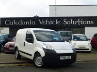 USED 2012 62 CITROEN NEMO 1.2 660 X HDI 1d 74 BHP ONE FORMER KEEPER with SERVICE HISTORY & 12 MONTHS MOT,***NO VAT***