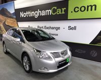 USED 2011 61 TOYOTA AVENSIS VALVEMATIC TR