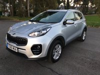 USED 2016 16 KIA SPORTAGE 1.7 CRDI 2 ISG 5d 114 BHP NEW SHAPE SAT NAV REV CAM 10000 MILES 7 YEAR WARRANTY